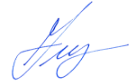 Gregory L. Fenves signature in blue ink