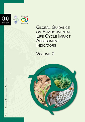 Global Guidance on Env LCIA Indicators Vol 2 cover
