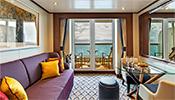 All ocean-front suites