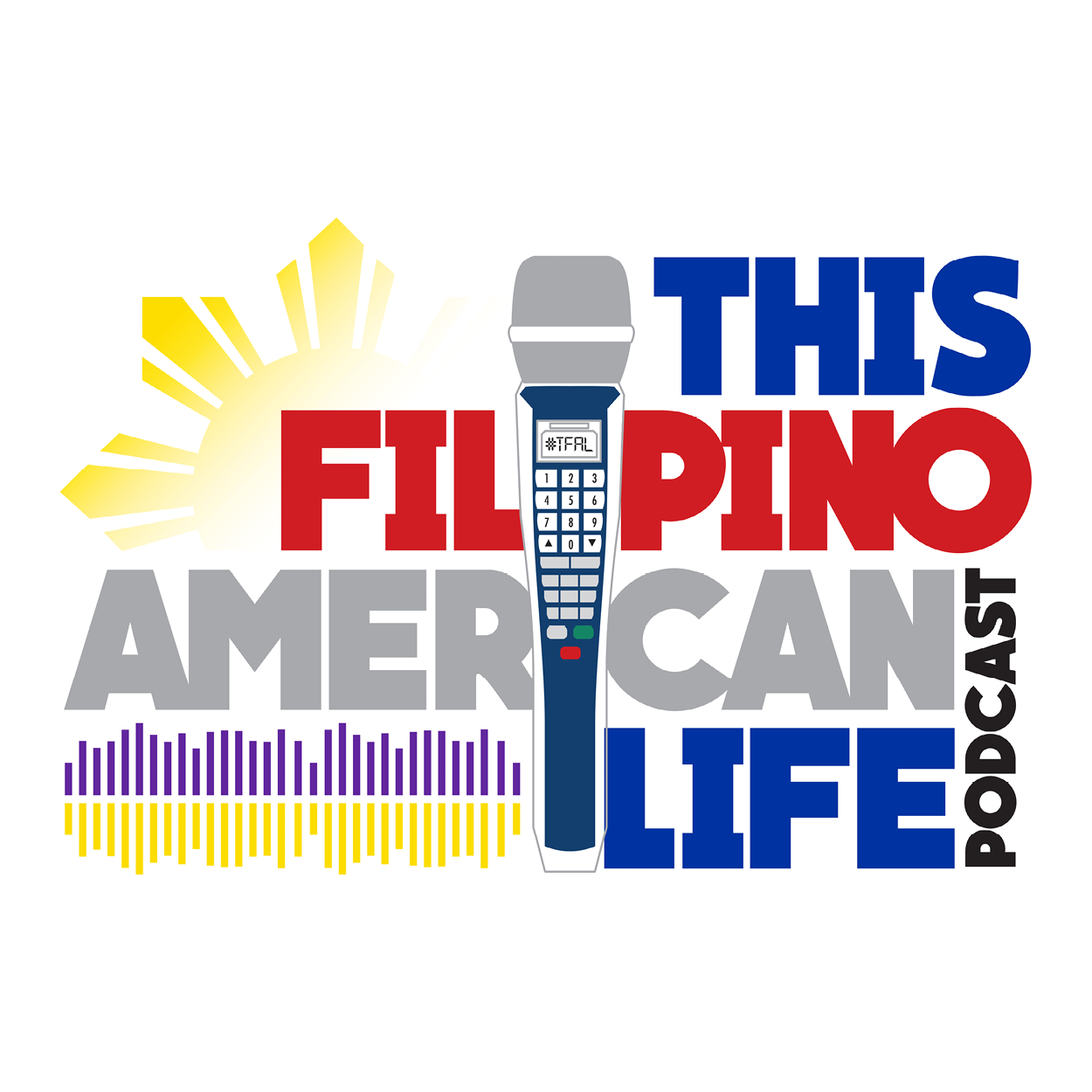 This Filipino American Life logo