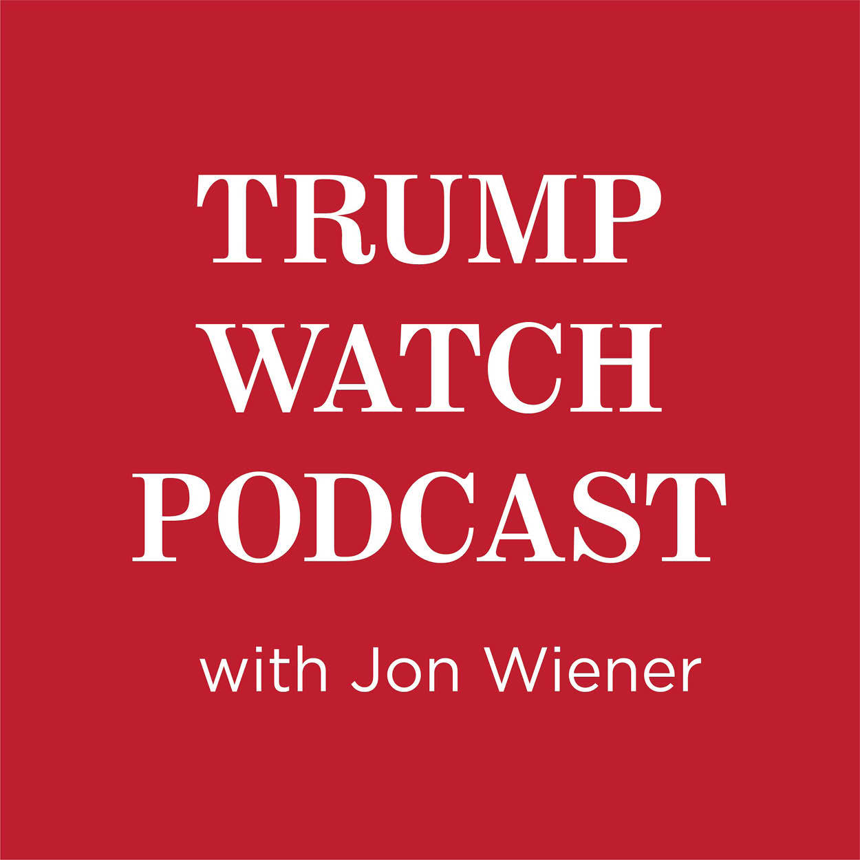 Trump Watch Podcast logo