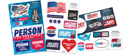 America Sticker Sheets