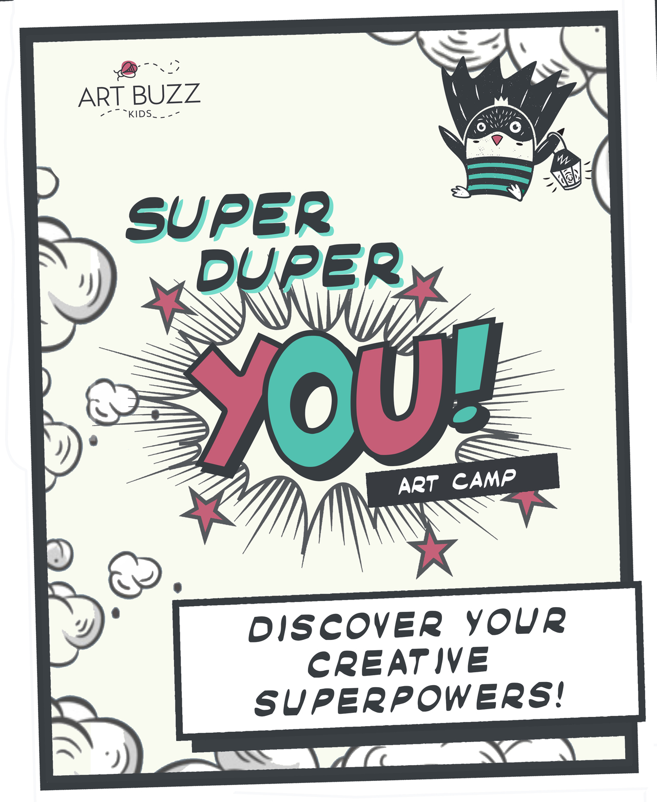 Super Duper You Summer Art Camp For Kids